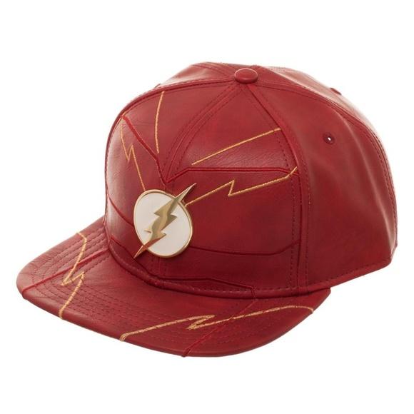 Flash Rebirth Snapback Hat Lightning Bolt Logo NEW e69538a29cef